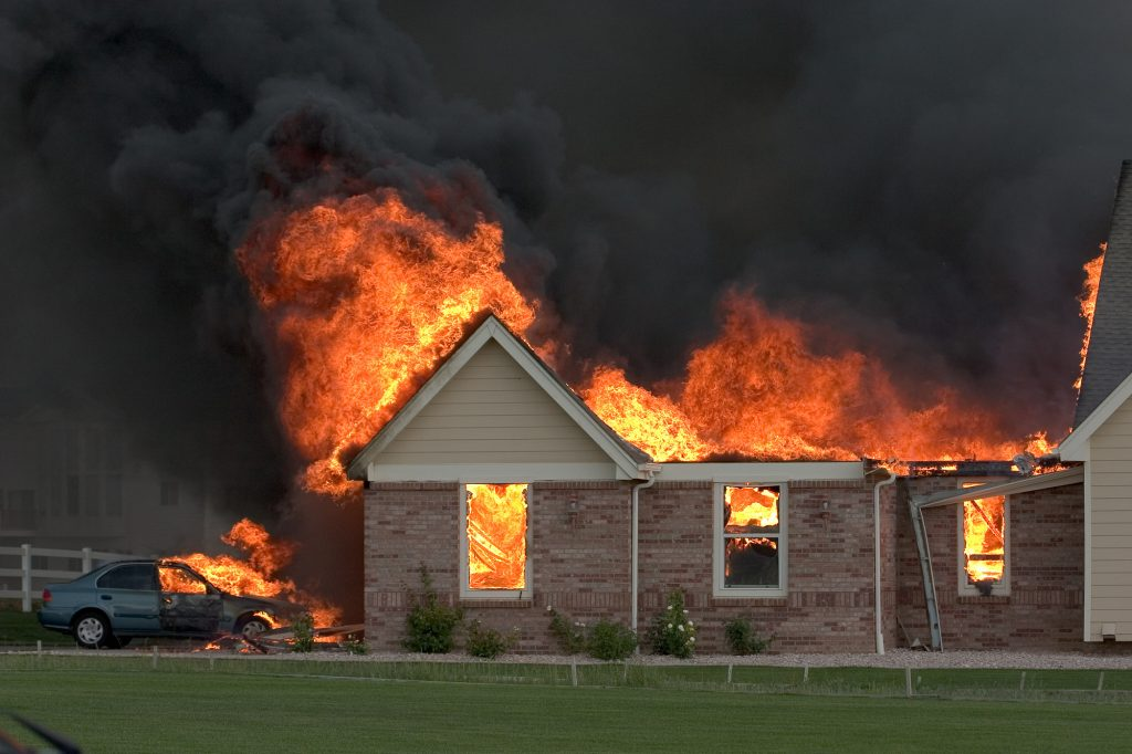 where do most home fires start