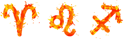 fire-with-zodiac-sign